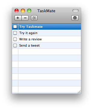 TaskMate Mac